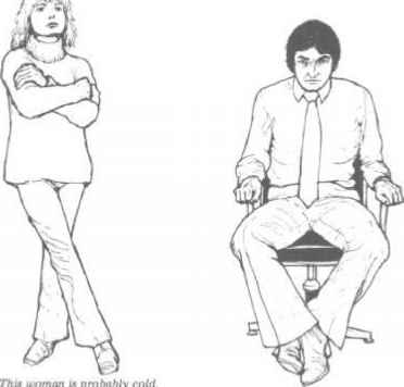 Sitting Ankles Touching Body Language