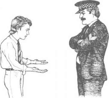 Police Officer Body Language