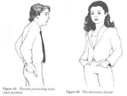 Thumb Pocket Body Language