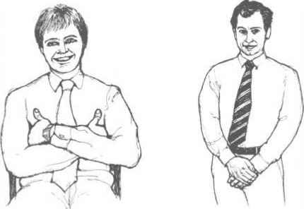 Body Language For Sales Persons